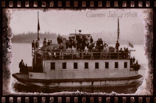 Guemes Ferry 1918