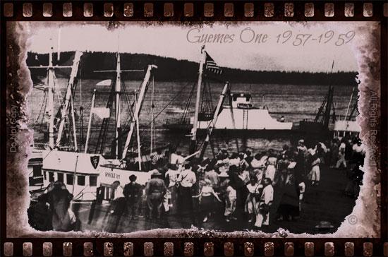 Guemes Island Ferry 1957